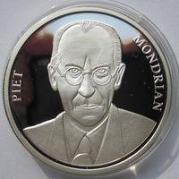 Нидерланды, экю, 1994, серебро, пруф