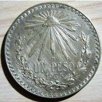 Мексика 1 песо 1935 г.