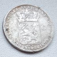 Нидерланды 1/2 гульдена, 1862 6-5-6