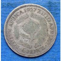 Южная Африка Британский доминион 6 пенсов 1927 Георг V
