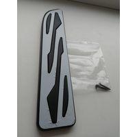 Подставка, накладка на зону покоя левой ноги водителя, авто, салон, тюнинг,  новая