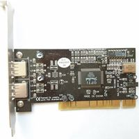 PCI USB 1.1 контроллер адаптер для старых MoBo (PCI 2.1)