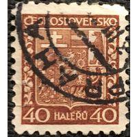 ЦІКАВІЦЬ АБМЕН! 1929, герб Чэхаславаччыны, 40 гелераў