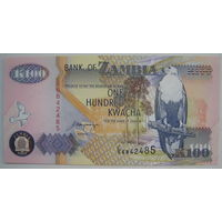 Замбия 100 квача 1992 г. (g)