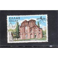 Греция.Ми-1092.Церковь Панагия тон Халкеон Салоники. Серия: Монастыри и церкви.1972.