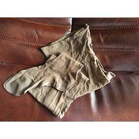Чулки темный загар 3 с пяткой,носочком и стрелкой