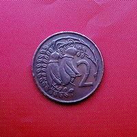 95-28 Новая Зеландия, 2 цента 1974 г.