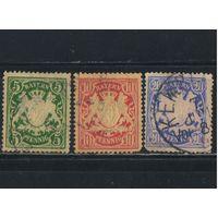 Бавария Германия  1888-1900 Герб Стандарт #55-57