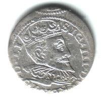 3 гроша Рига 1597г