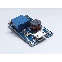 DC-DC MT3608 повышающий преобразователь с регулировкой U и micro USB