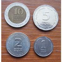 Израиль. Набор монет