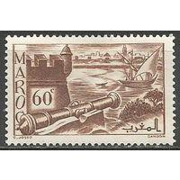 Французское Марокко. Форт Удайя. 1939г. Mi#152.