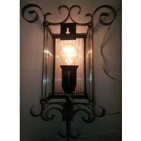 Светильник винтажный,ночник,стилизованный под фонарь,СССР