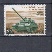[364] Индия 1976.Армия.Танк.