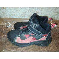 Ботинки деми на байке, размер 33
