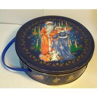 Коробка для Новогодних сувениров, подарков, конфет, металл