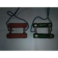 Резистор 15 Ом типа ПЭВ, родом из ГДР, 4 шт. одним лотом