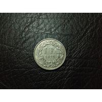 1 франк 1973