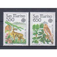 [359] Сан-Марино 1986. Фауна. Европа.EUROPA.