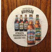 Подставка под пиво Miloslaw Browar Fortuna No 1