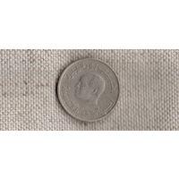 Тунис 1/2  пол 0,5 динара 1983 /голова//(Sx)