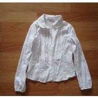 Блузка белая Маруся