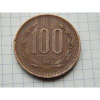 Лот #51: 100 песо 1997 Чили
