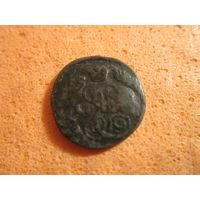 Мелкая монета Екатерины второй. Медь.