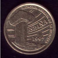 5 Песет 1997 год Испания Биосфера