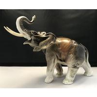 Слон большой Royal DUX Фарфор.Фаянс.Клеймо Чехословакия