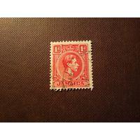 Британская Ямайка 1938 г.Король Георг -VI.