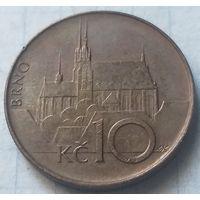 Чехия 10 крон, 1993     ( 3-6-5 )