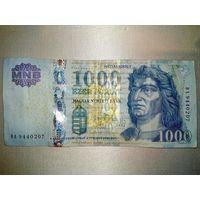 Венгрия 1000 форинтов 2011 год