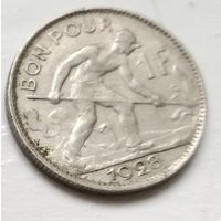 Люксембург 1 франк, 1928 4-6-6