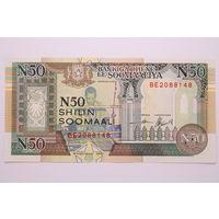 Сомали, 50 шиллингов 1991 год, UNC