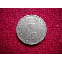 Португалия 20 эскудо 1986 г.