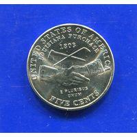 США 5 центов 2004 D