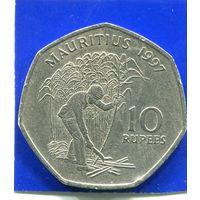 Маврикий 10 рупий 1997
