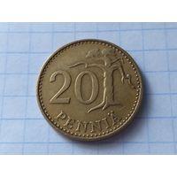 Финляндия 20 пенни, 1963