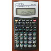 Научный калькулятор CITIZEN SR-281