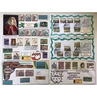 Аукцион,50 конвертов Австрии со спецгашением