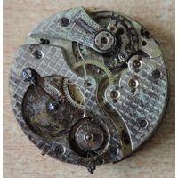 """Механизм на карманные часы """"Мовадо"""". Швейцария. Диаметр 3.8 см.  Не исправные."""