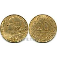 Франция 20 сантимов 1971