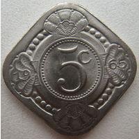 Нидерландские Антильские острова (Антилы) 5 центов 1965 г. (u)