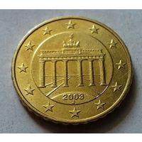 10 евроцентов, Германия 2003 J