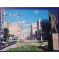 Бразилия Сан Пауло авеню