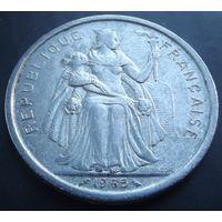 Французская Полинезия. 5 франков 1965