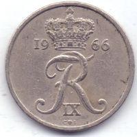 Дания, 10 эре 1966 года.