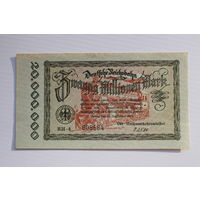 Германия 20 миллионов марок 1923 год