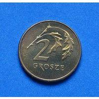 Польша, 2 гроша 1990,1991,1992,1997,1998,1999,2000,2002,2003,2004,2007,2008,2009,2010, 2012,2013 год. (Хорошие, XF-aUNC)